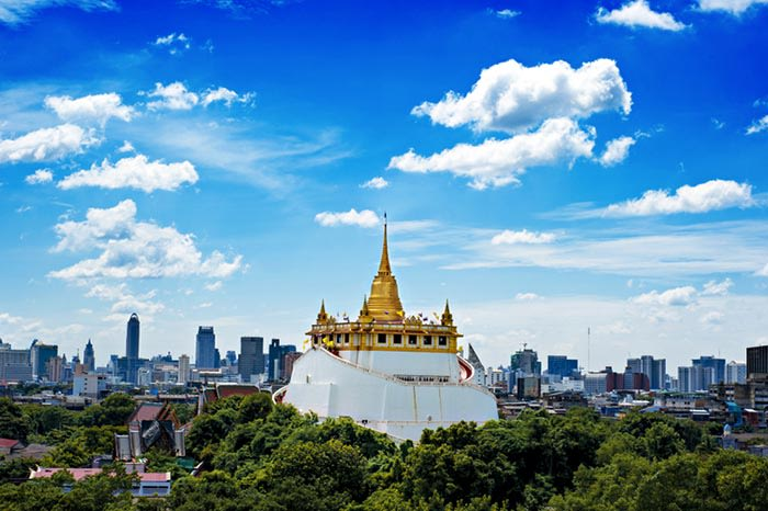 Golden Mount en Bangkok