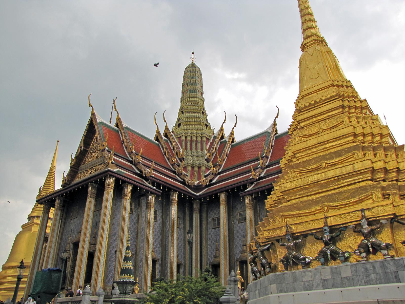Bangkok, il Palazzo Reale. Cabiria Magni