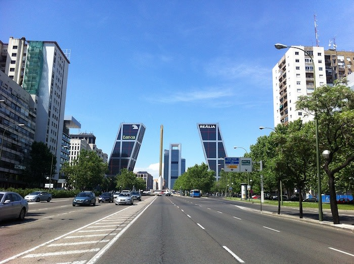 walk of the castellana