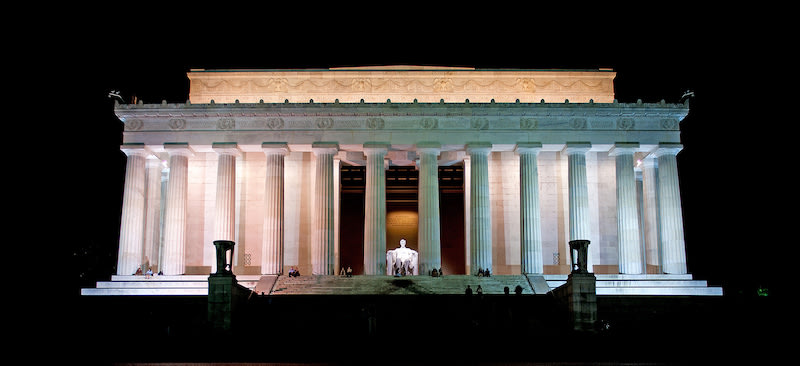 Monumentos del mundo: Lincoln Memorial Washington