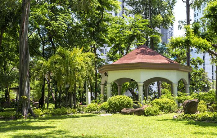 Manila: parque en el centro de la ciudad