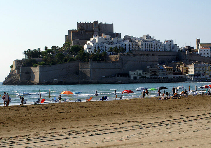 Playas de levante: playa de peñíscola