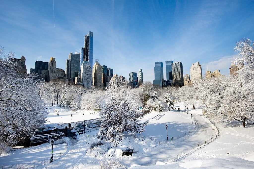 Destinos de invierno: Nueva York nevado