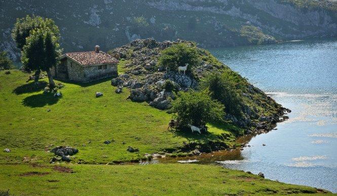 Pirineos: Lago Enol