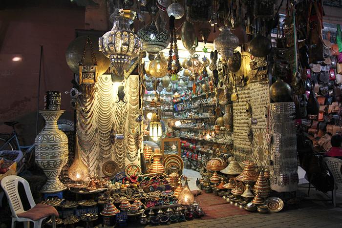 Tienda medina Marrakech