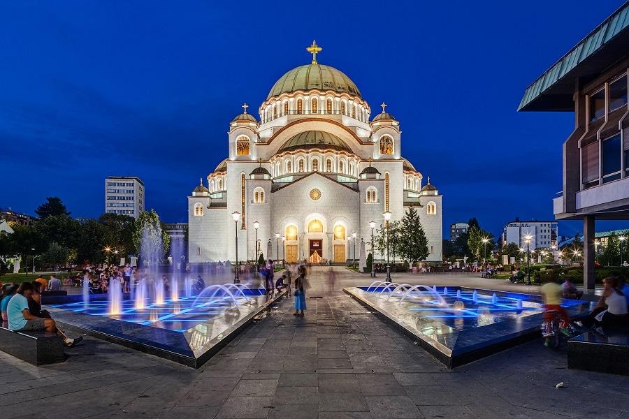 Belgrado tempio di San Sava