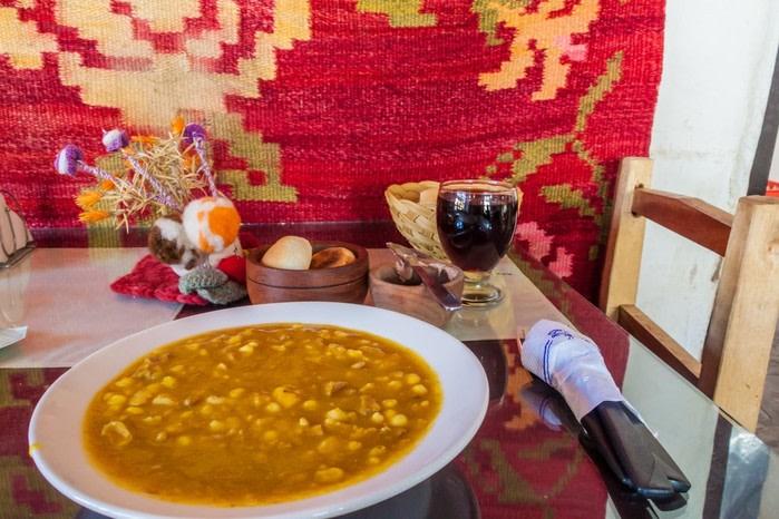 Comida típica argentina: locro