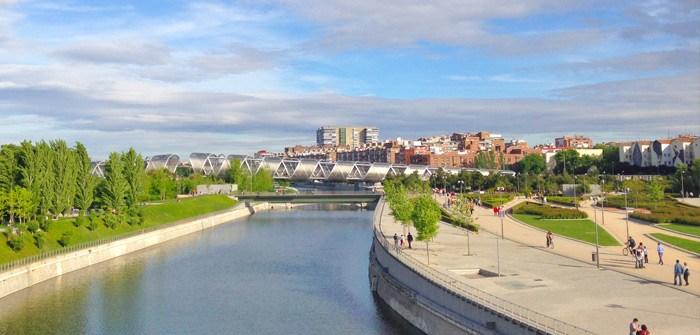 Madrid con nños: parque río