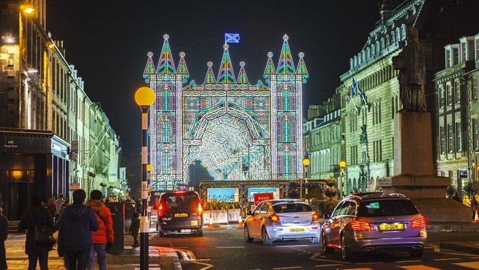 Edimburgo a Natale