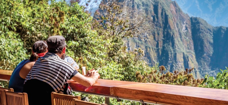 Hoteles con vistas: Hotel Belmond Sanctuary Lodge Machu Picchu.