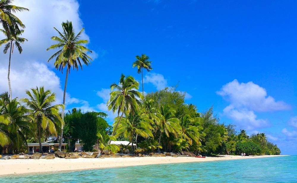 Arorangi beach, Rarotonga