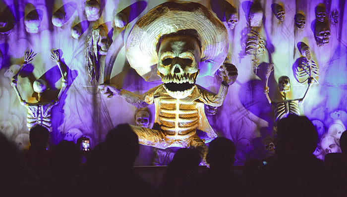 Day of the Dead - Mexico City. Image by jazbeck via Flickr Creative Commons