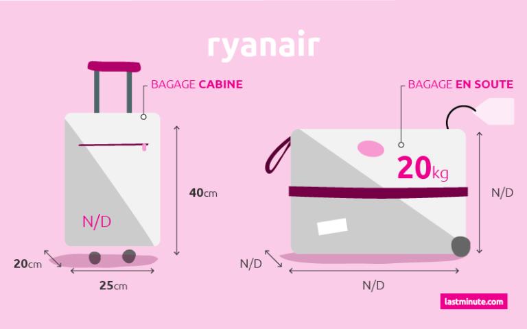 revendeur f50cb 2a529 Bagage à main et en soute Ryanair - Guide des bagages ...