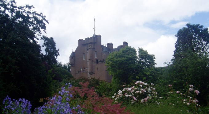 Castillo de Glamis en escocia