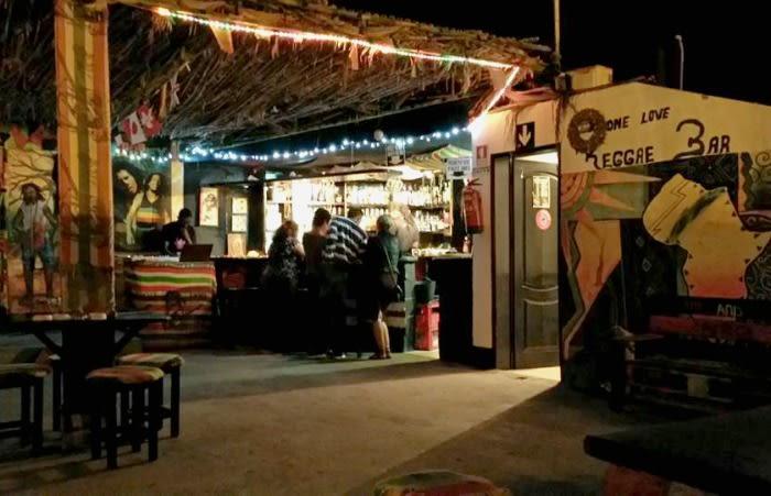 Cabo Verde terraza bar