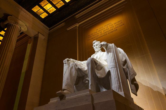Qué ver en Washington : Lincoln memorial