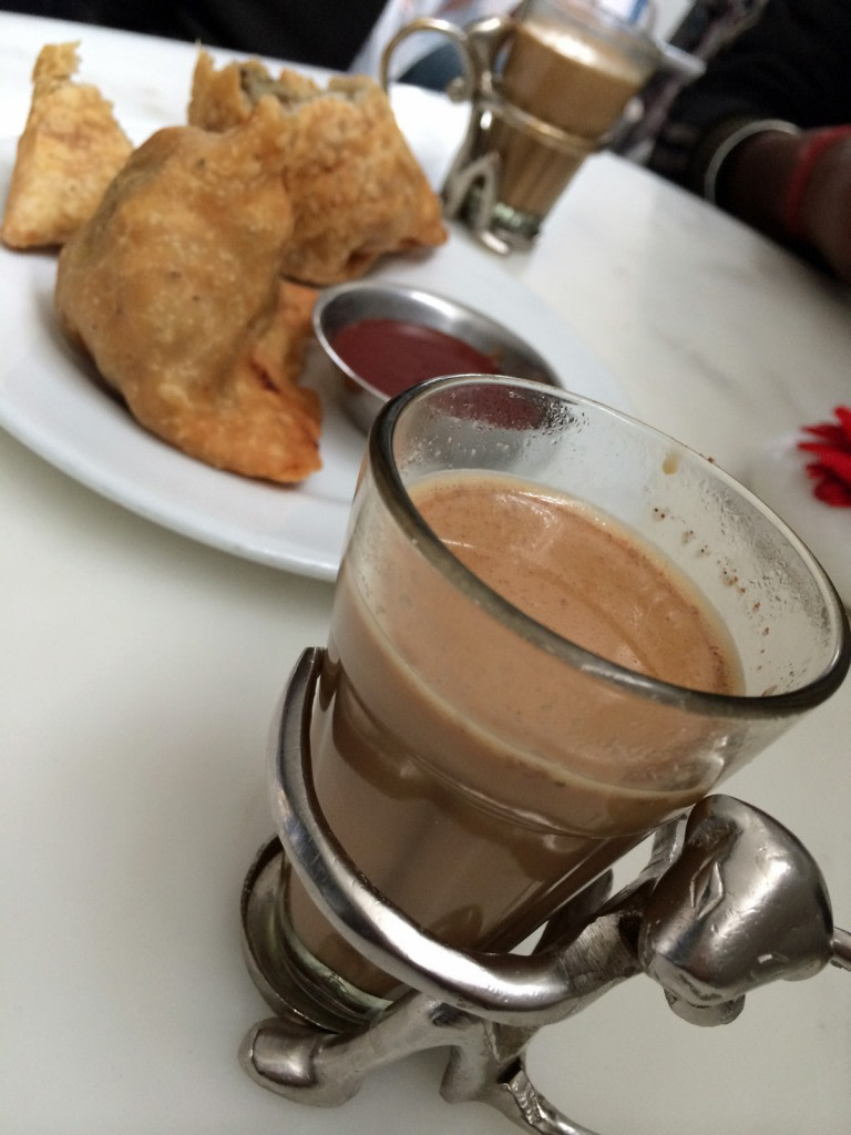 Chai Tea e samosa