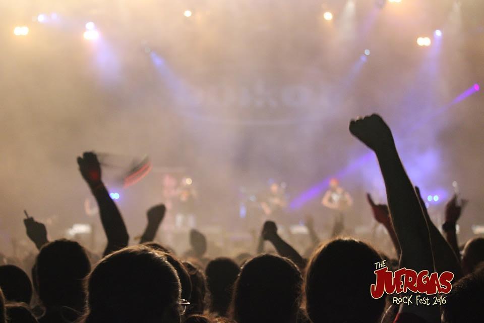 The Juergas Rock Festival en Adra, Almería