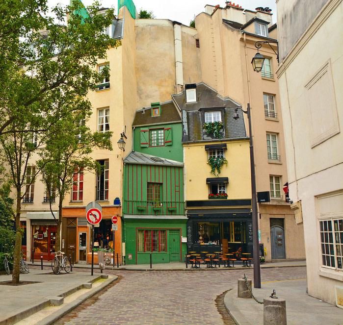 Barrio de Montmartre, Paris.