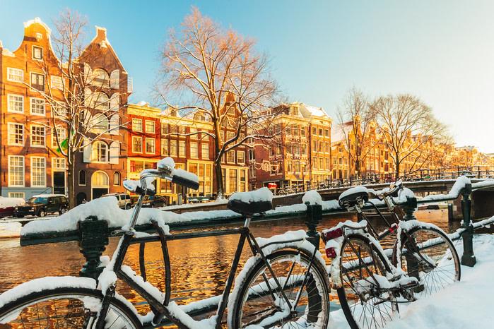 Destinos de invierno: amsterdam