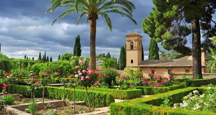 Qué ver en Granada: Jardines del generalife