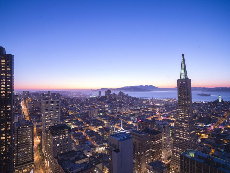 Hoteles con vistas: loews regency san francisco