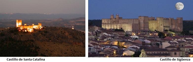 Castillo de Santa Catalina, ruta de los castillos de espana