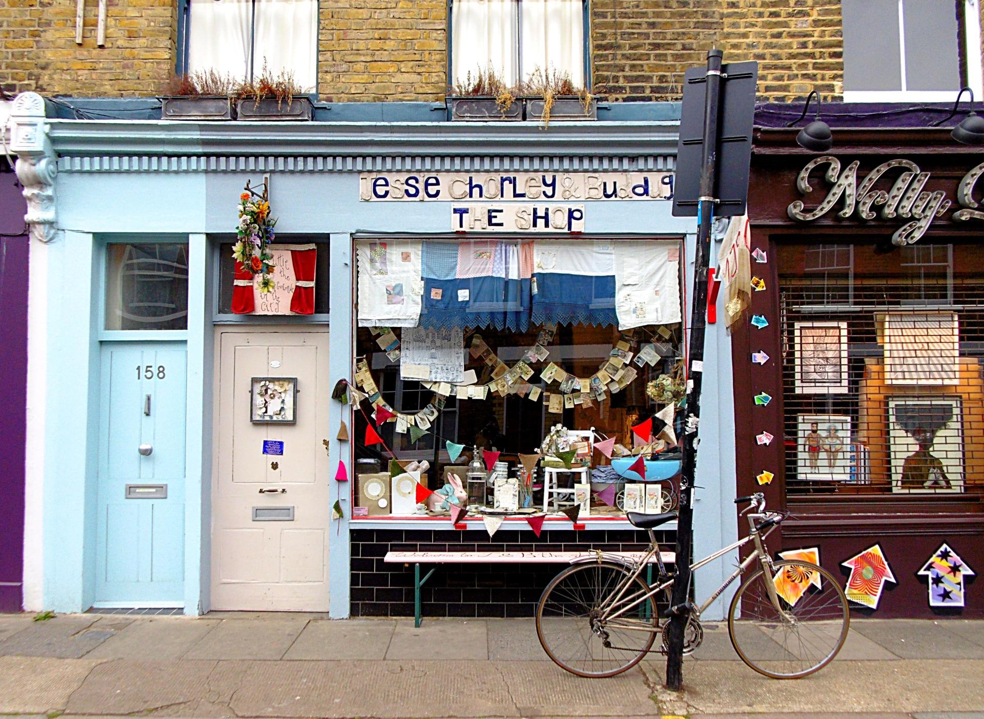 london shop
