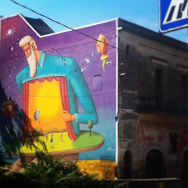 Street art, Grottaglie, Taranto