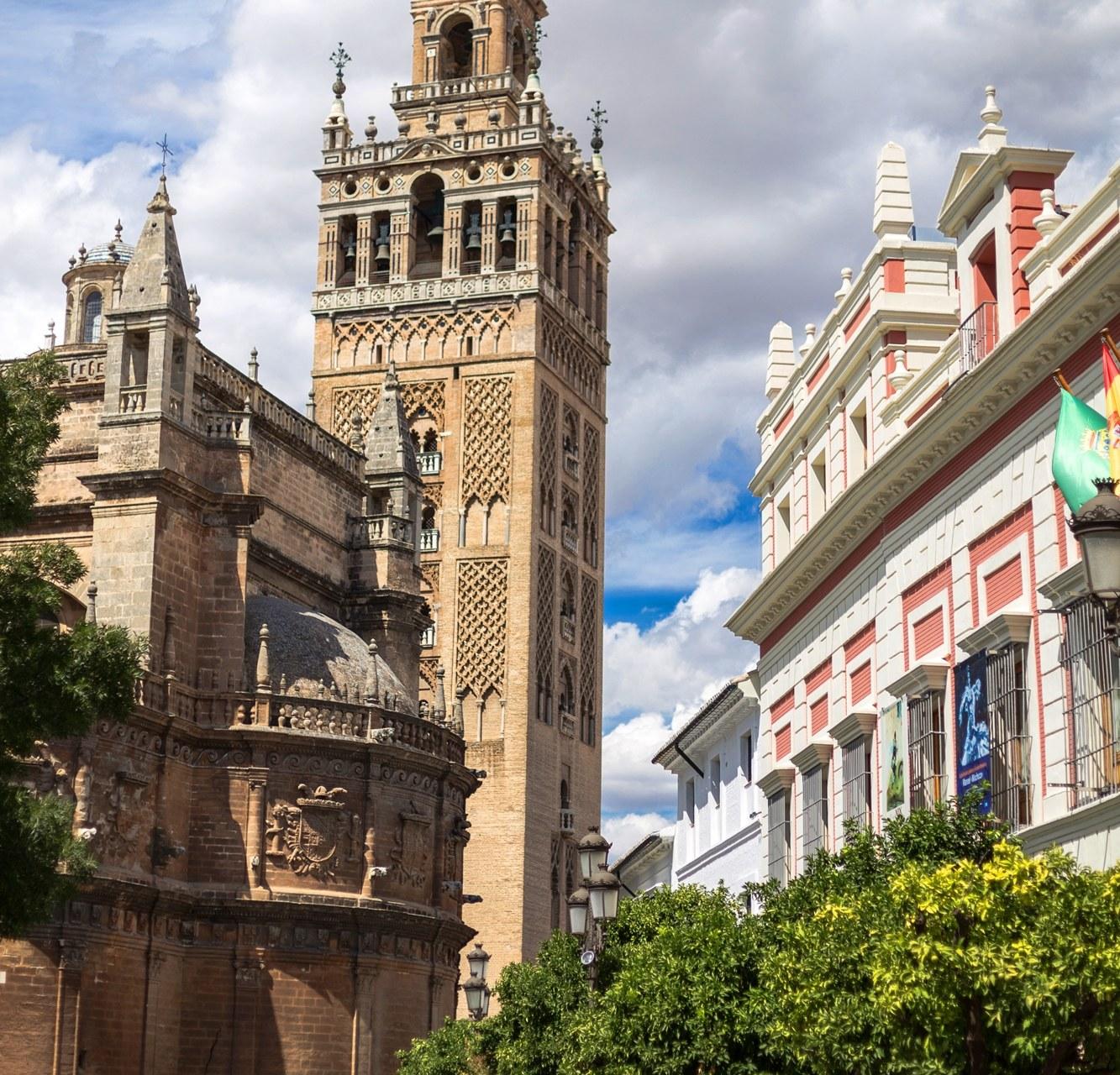 Andalusia, la Giralda a Siviglia