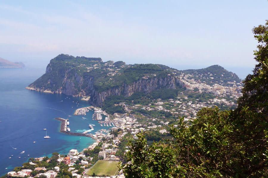 Capri da Villa San Michele