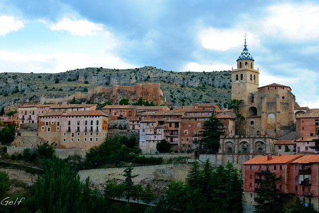 Panorámica Albarracín Foto: Germán Flickr.com, Creative Commons