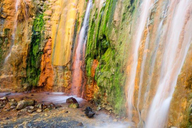 parque nacional de la caldera de taburiente en la palma