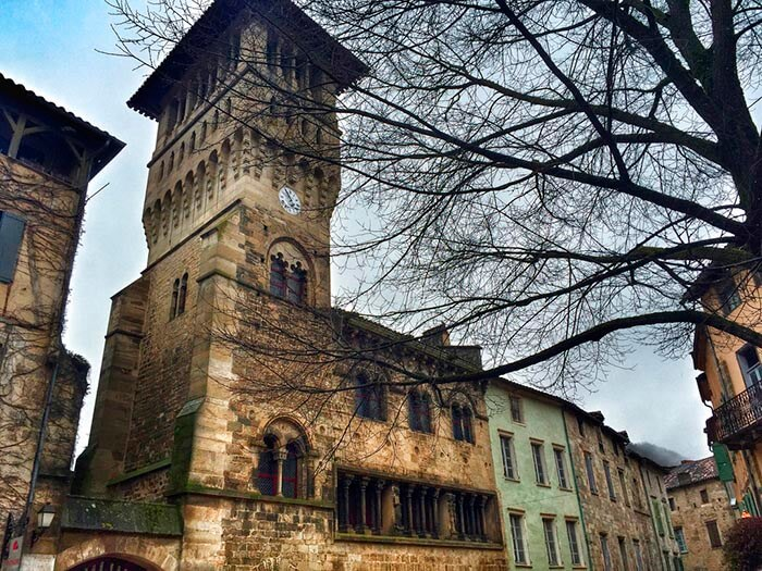 Saint Antonin Noble Val sur de francia