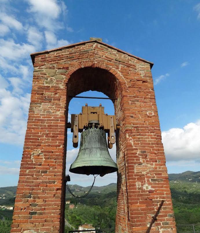 Campanario, torre del Museo Leonardino en Vinci