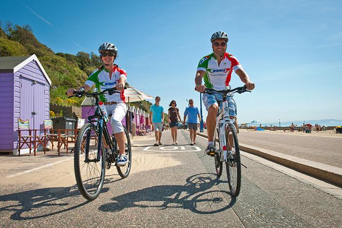 Bournemouth Cycling. Image via Tourism South East