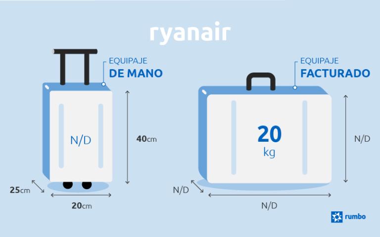 estilo distintivo zapatillas de deporte para baratas amplia selección Equipaje de mano de Ryanair | Tus dudas resueltas en Rumbo.es