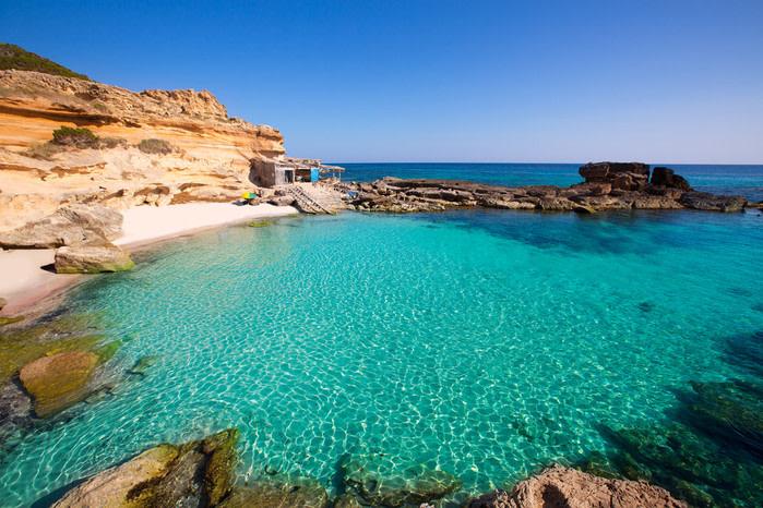 Formentara: Cala de Mitjorn