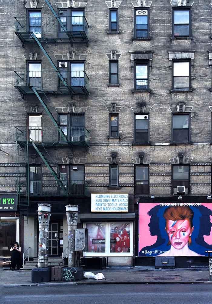 David Bowie en Nueva York