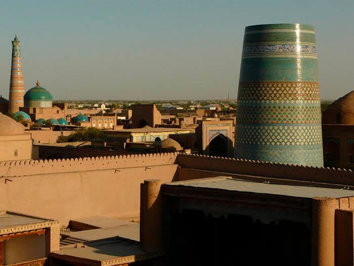 khiva ciudad de uzbekistan