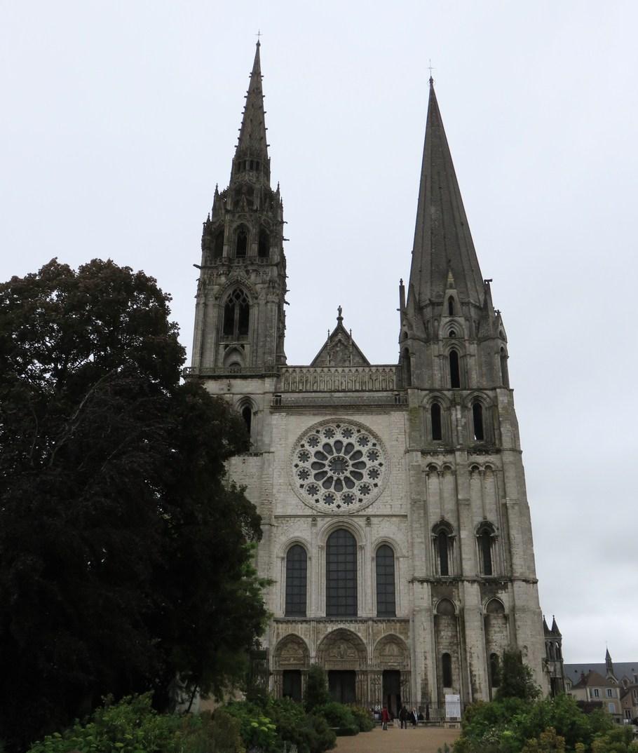 Chartres, gotico, Francia