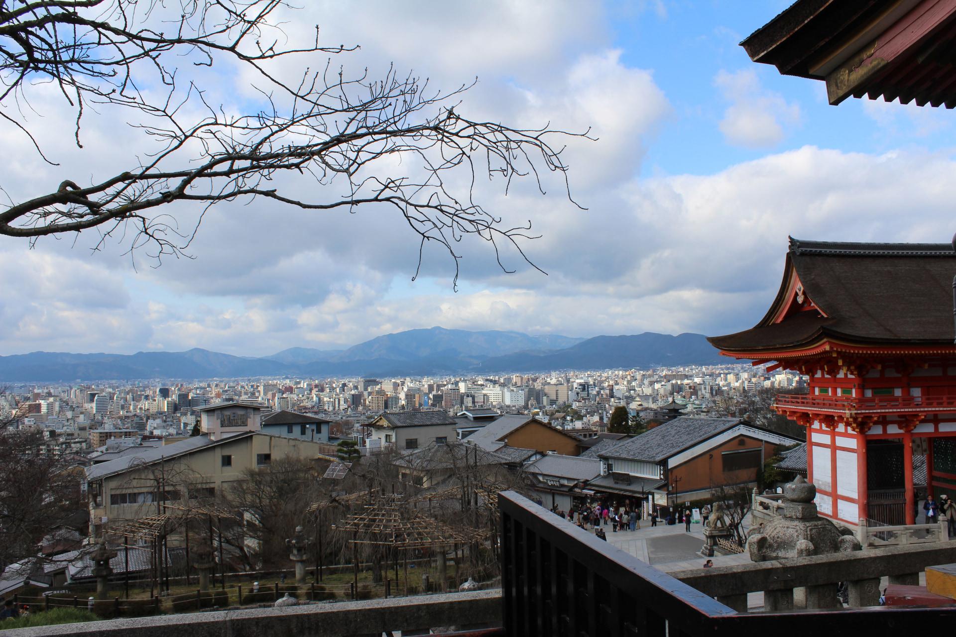 templi di Kyoto kiyomizudera