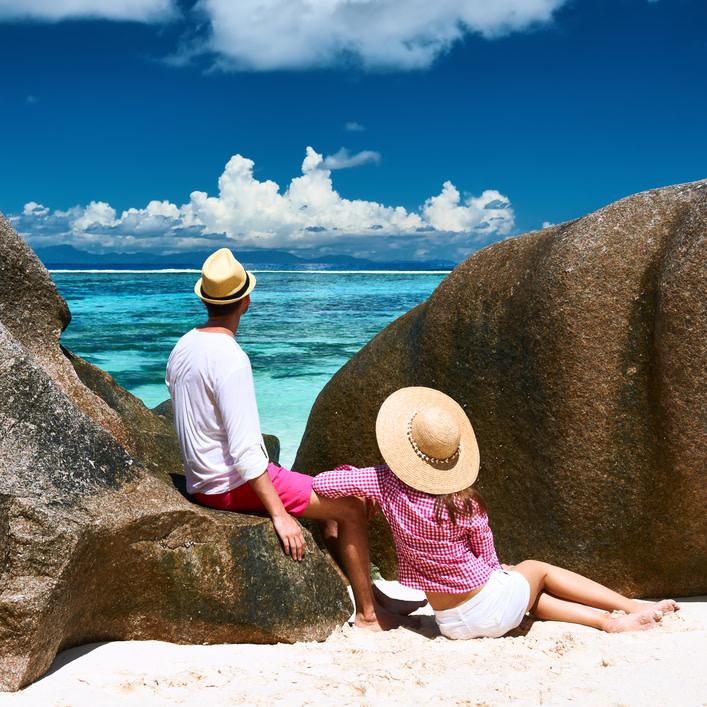 Un auténtico placer disfrutar del sol en cualquier playa de las Islas Seychelles