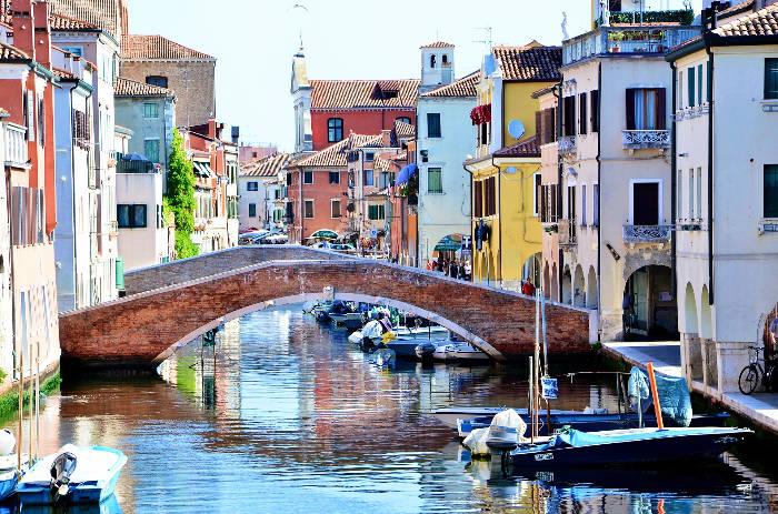 Il centro storico di Chioggia