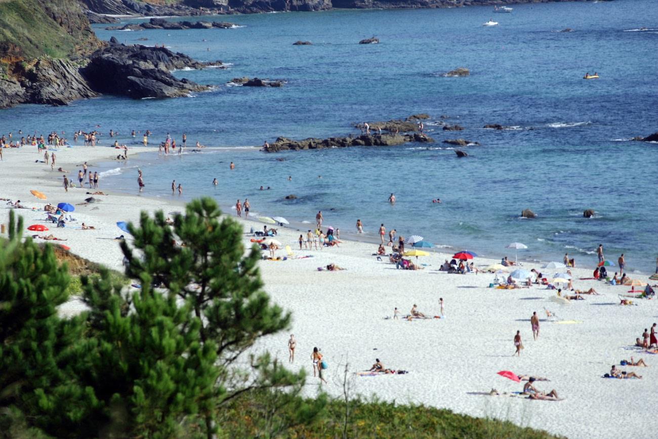 Playa de Pragueira, Sanxenxo, que ver en las rias baixas