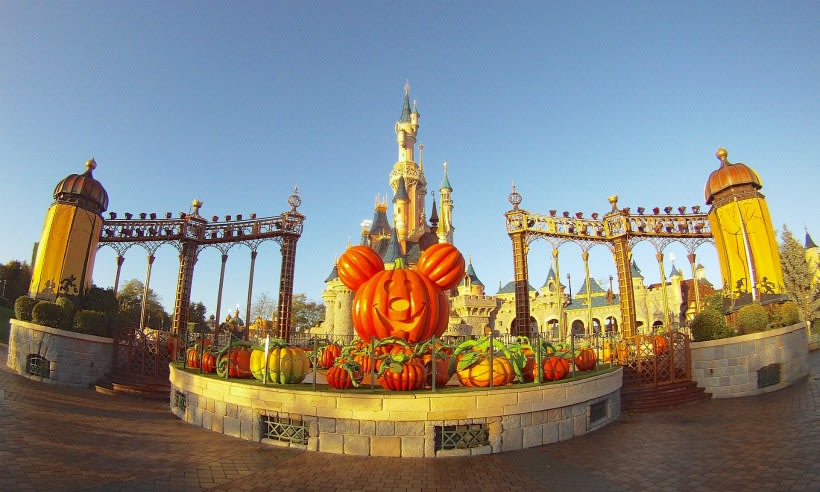 Disneyland Paris en Halloween