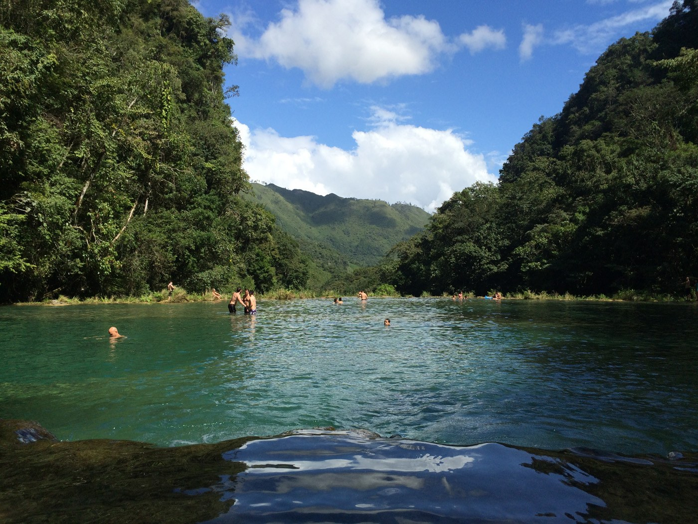 Le piscine di Semuc Champey