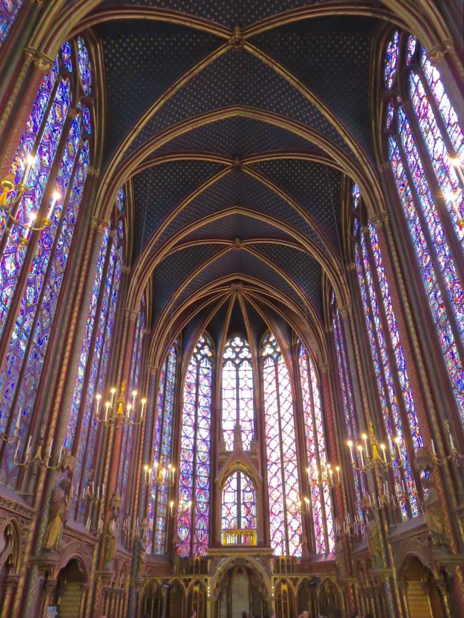 Sainte-Chapelle, Parigi, gotico, Francia