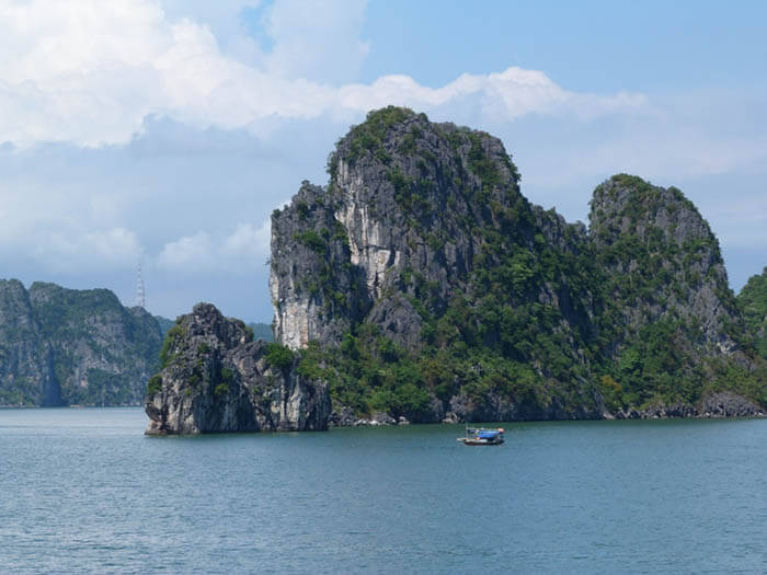 bahia de halong en vietnam