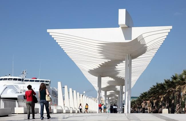 Muelle Uno, Málaga/ Foto: Philip Lange / Shutterstock.com.